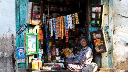 Shopkeeper. Picture: James Leacock