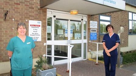 Wisbech's Minor Injury Unit has reopened following months of closure due to the covid-19 pandemic. P