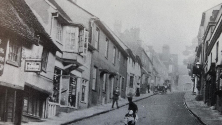 Fore Street, Old Hatfield, inyears gone by.
