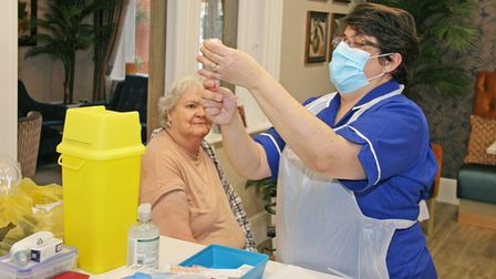 Lyncroft Care Home residents get Covid-19 vaccine