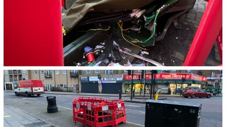 Almost 250 are without broadband after a car struck a telecoms box in Goodmayes.