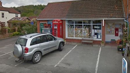 Brent Knoll village shop closed on March 1 2020.