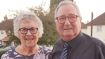 George and Eileen Shaw have not spent any time apart since they got married 61 years ago.