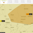 amber weather warning