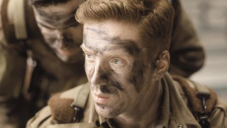 Damien Lewis as Richard D Winters in Band of Brothers.