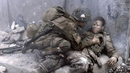 Donnie Wahlberg as Carwood Lipton in episode 2 of Band of Brothers.