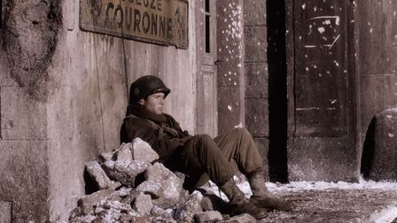 A scene from Band of Brothers episode eight,The Patrol.