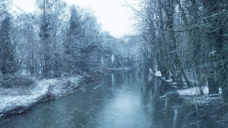 The wintry weather created some glorious scenery in and around Wymondham and Attleborough.