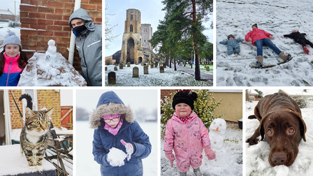 We asked you to send in your photos after several inches of snow fell in Wymondham, Attleborough and the surrounding areas on Saturday.