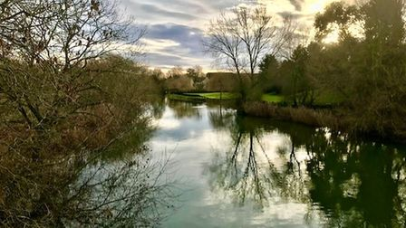Tracy Finch took this photograph at the Willow Bridge in Eynesbury, St Neots.
