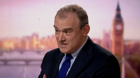 Ed Davey on the Andrew Marr show