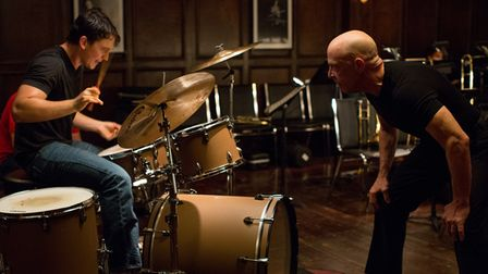 A scene from movie Whiplash