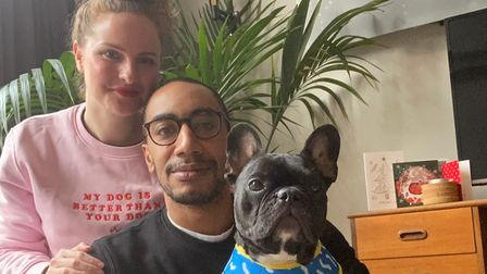 Seth Boateng and Charlotte Valkeniers, owners of Reign Dog