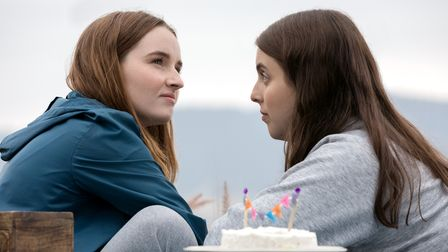 A scene from Booksmart