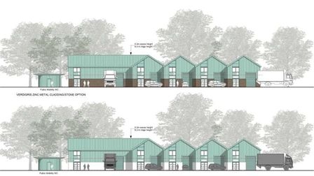 A plan of what industrial units at Torquay coach station could look like