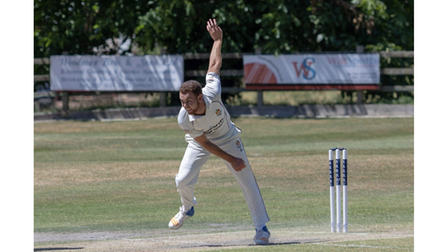Ryan Higgins in action for Clevedon