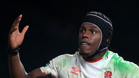 Head and shoulders shot of England's Maro Itoje