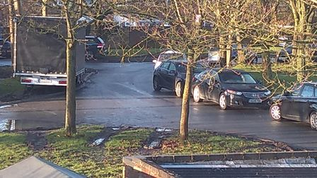 Concerns have been raised about parking in Essex Road, in Huntingdon.