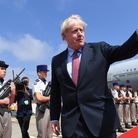 Embargoed to 2230 Saturday January 16 File photo dated 24/08/19 of Prime Minister Boris Johnson arri