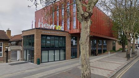 The entrance to NewVIc viewed from Prince Regent Lane.