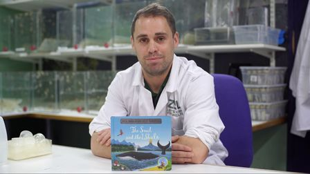 Sam Aberdeen reads The Snail and the Whale by Julia Donaldson and Axel Scheffler