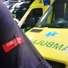 Ambulance and fire officer