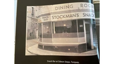 Old picture of Torquay cafe
