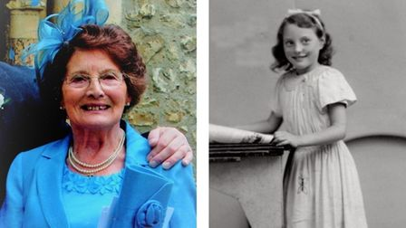 More recent image of Iris Watson and one of her as a child