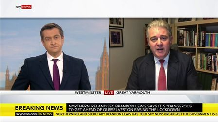 Brandon Lewis is interviewed by Niall Patterson