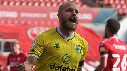 Teemu Pukki scored twice at Bristol City earlier this season but missed out at the weekend with a side strain injury
