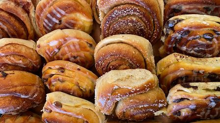Some of the buns made by Karma Bread