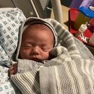 BabyTyler Rodwell, thefirst boy to be born on Christmas Day at Queen's, arriving at 3.13am