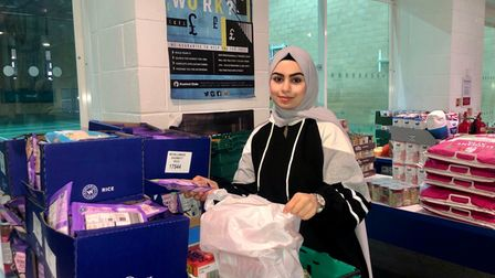Leanne Mohamad who has been volunteering at Frenford Youth Club's Mutual Aid Foodbank since the start of the pandemic is this month's Young Citizen nominee.