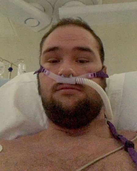 Jay Clackspent10 days inthe intensive care unit (ICU) at Hinchingbrooke Hospital,earlier this month, fighting for his...