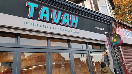 Tavah restaurant in Hatfield Road, St Albans, delivered food to two households self-isolating due to coronavirus.
