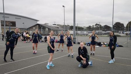 First team players for Romford Netball Club