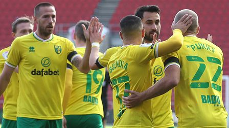 Norwich City are finding their rhythm in the Championship. Picture: Paul Chesterton/Focus Images L