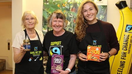 Fairtrade products were on offer at the Sidmouth Food Festival at Kennaway House. Ref shs 33-16SH 52