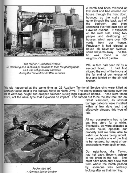 Black and white clipping from an article