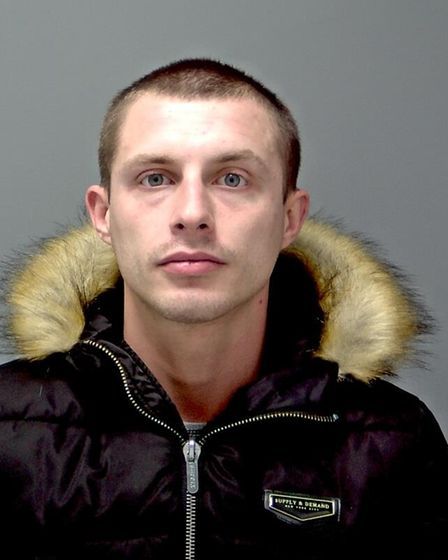Neven Kovac was jailed at Ipswich Crown Court for possessing a knife