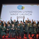 St Antony's Primary School pupils performed in front of London