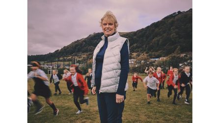 Elaine Wyllie MBE set up the Daily Mile foundation in 2012