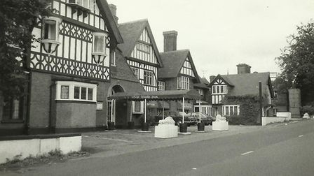The hotel in the 1970s.