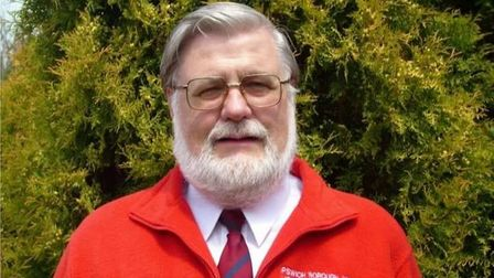Former licencing enforcement officer for Ipswich Borough Council, Bob Bennett, was known in the town for always wearing his red fleece.