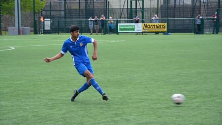 Glen Hayer in action for Panjab