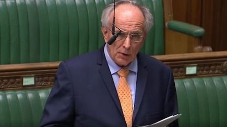 Peter Bone in the House of Commons