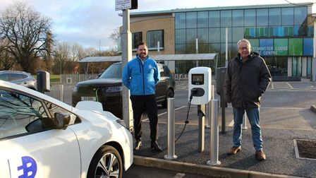 Three dual charging points, which can be used by up to six vehicles at time, have been placed at Westminster Lodge car park as part of a pilot scheme.