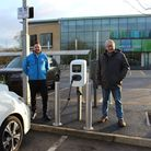 Three dual charging points, which can be used by up to six vehicles at time, have been placed at Westminster Lodge car...
