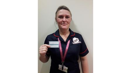 Sharron Cooper is a community clinical nurse specialist at St Elizabeth Hospice