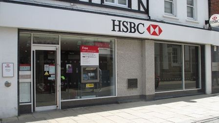 HSBC has announced it will close the Huntingdon branch.